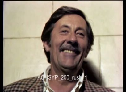 JEAN ROCHEFORT AT THE CONSERVATOIRE