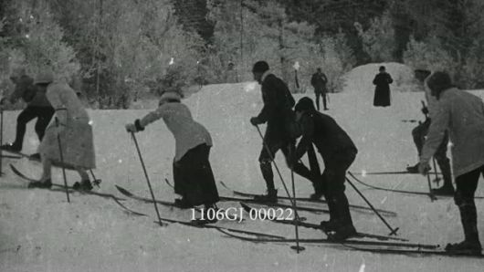 CHAMONIX, WINTER SPORTS, SKI, 1911